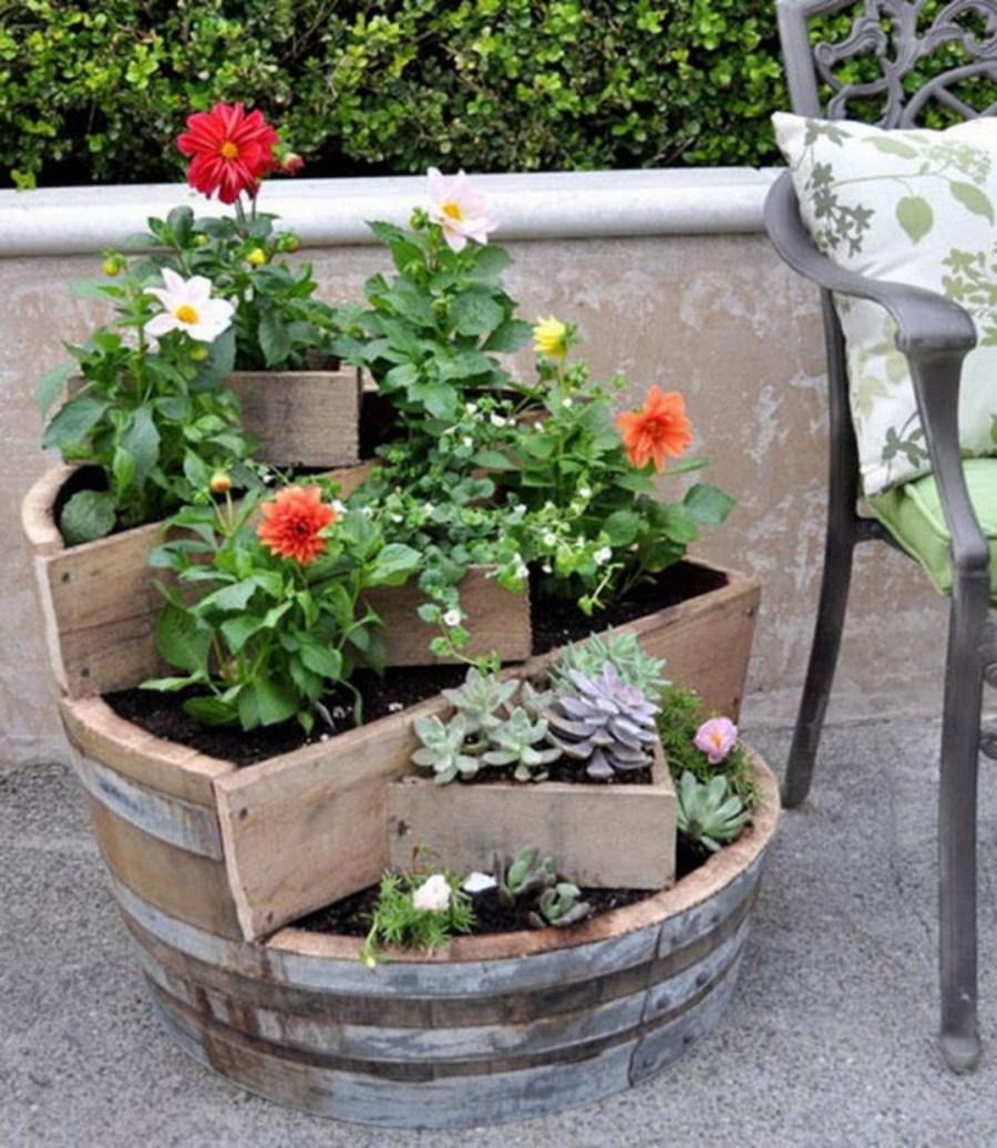 Parterre de fleurs en couches - un aperçu des principaux types