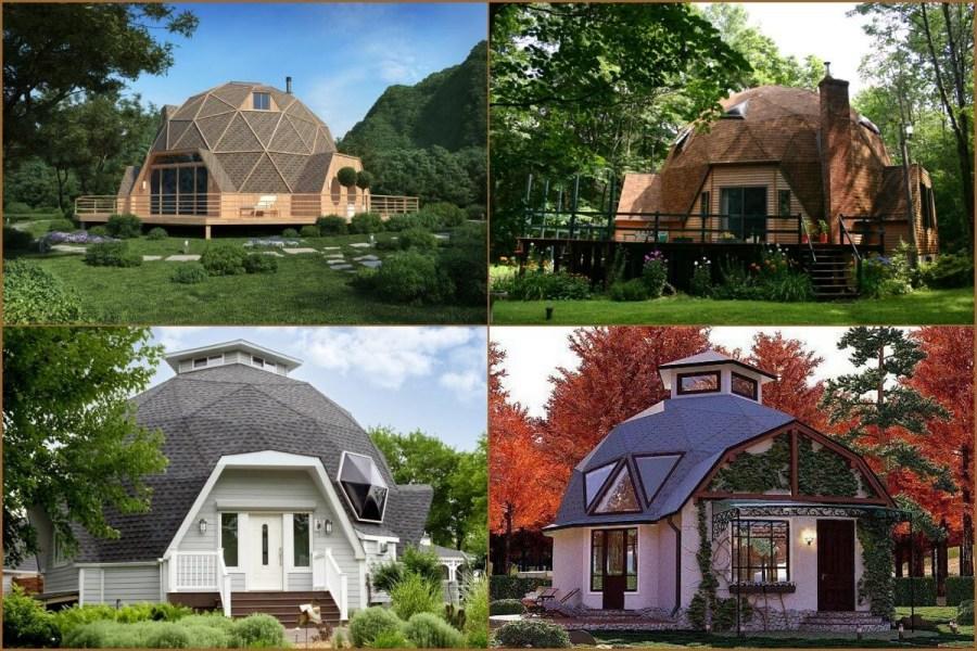 Rumah Kubah 125 Gambar Reka Bentuk Moden Rumah Berbentuk Kubah Yang Selesa