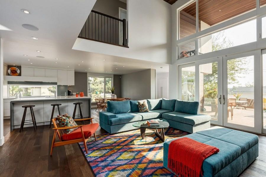 design d'intérieur de maison privée