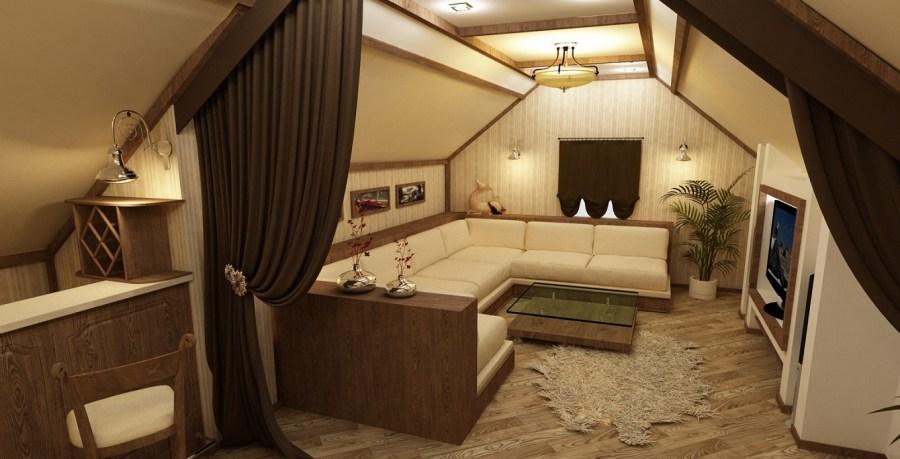 الداخلية الحديثة المنزل