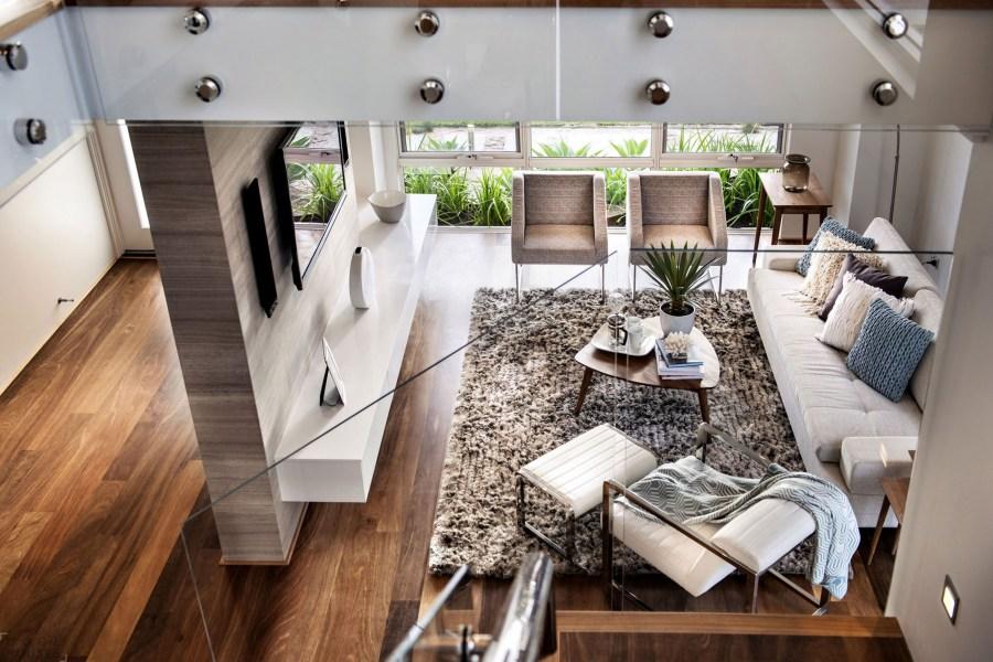 التصميم الداخلي المنزل الحديث